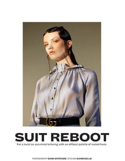 L'Officiel / Suit Reboot