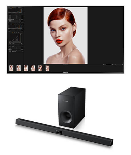 40`` Smart TV & Bluetooth Sound Bar